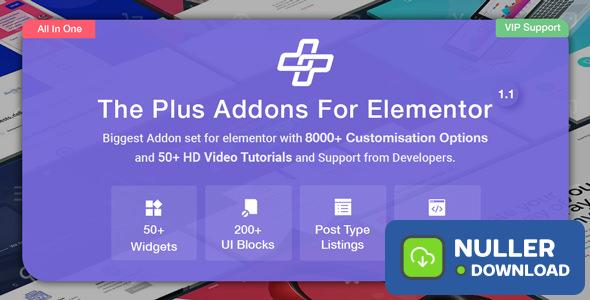 The Plus v3.1.0 - Addon for Elementor