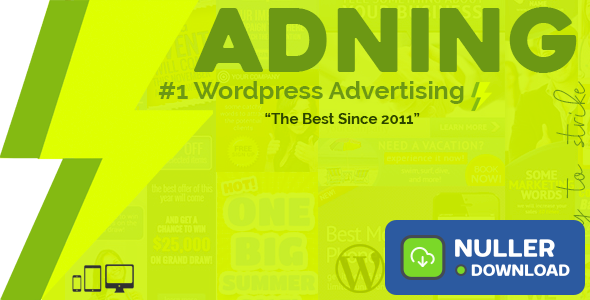 Adning Advertising v1.3.6 - All In One Ad Manager
