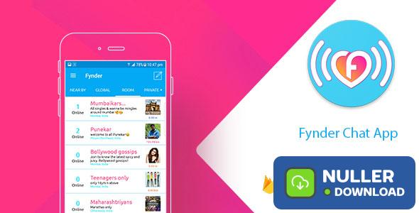 Fynder - Find, Chat, Meet - Realtime Chat Application with Firebase