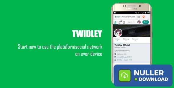 Twidley v2.0.1 - The Pro Social Network - nulled