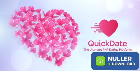 QuickDate v1.0 - The Ultimate PHP Dating Platform