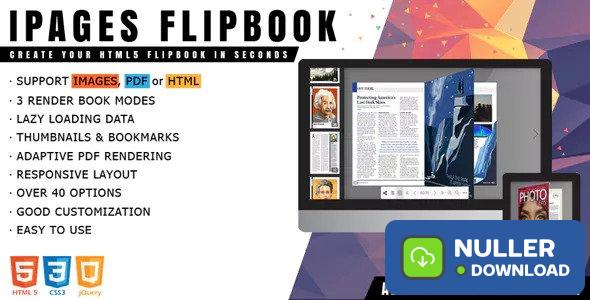 iPages Flipbook v1.3.4 - jQuery Plugin