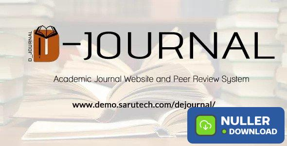 De-Journal - Academic Journal and Peer Review System