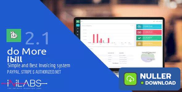 ibill v1.1 - Simplest and Best Billing & Invoice Manager - nulled