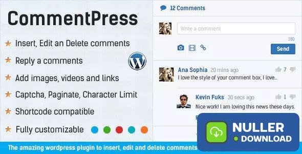 CommentPress v2.7.0 - Ajax Comments, Insert, Edit and Delete