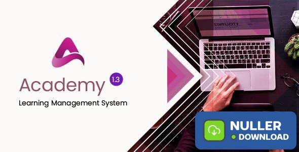 Academy v1.3 - Course Based Learning Management System - nulled