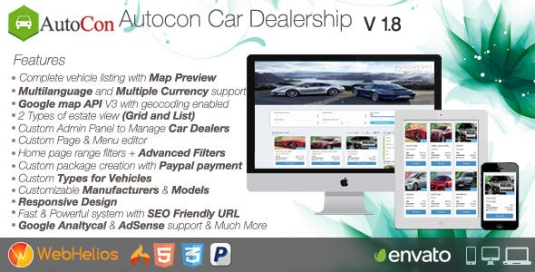 Autocon Car Dealership v1.8