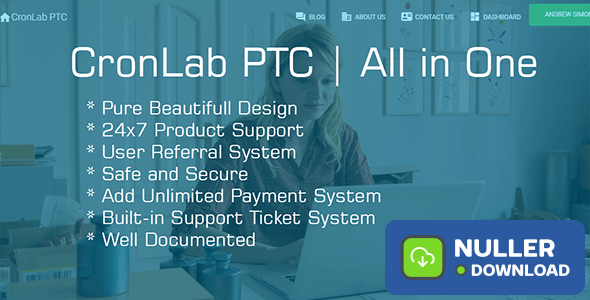 CronLab PTC v3.0 - All in One Script for PTC, HyIp, Crypto Trade & Money Investment