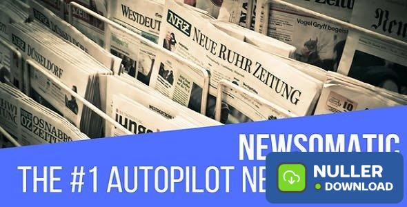 Newsomatic v3.0 - Automatic News Post Generator