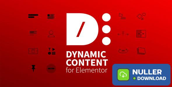 Dynamic Content for Elementor v1.8.0
