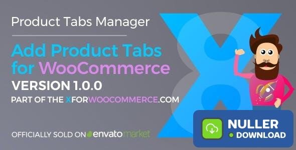 Add Product Tabs for WooCommerce v1.1.3