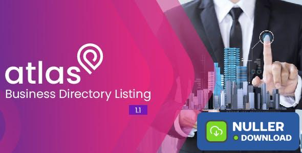 Atlas Business Directory Listing v1.1 - nulled
