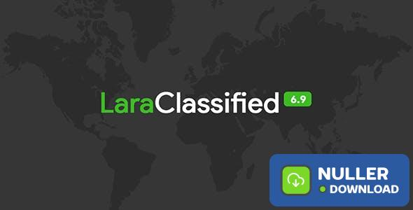 LaraClassified v6.9.3 - Classified Ads Web Application - nulled