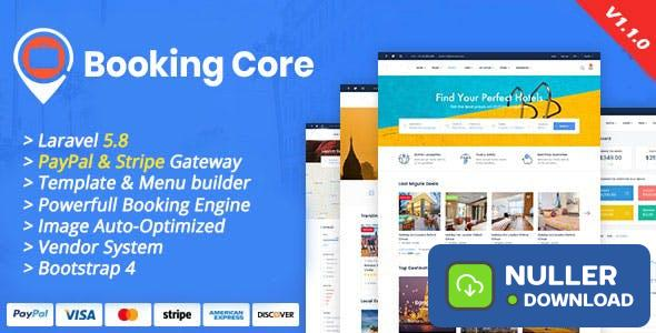 Booking Core v1.1.0 - Ultimate Booking System