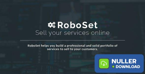 RoboSet v1.0.13 - Sell your services online - nulled