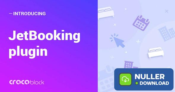 JetBooking v2.0.2 - Booking functionality for Elementor