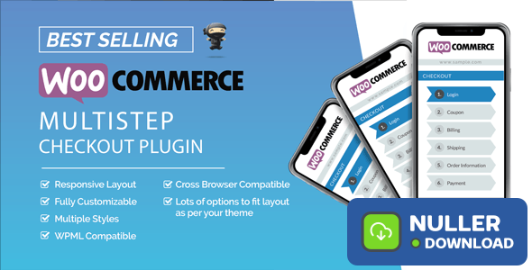 WooCommerce MultiStep Checkout Wizard v3.6.8