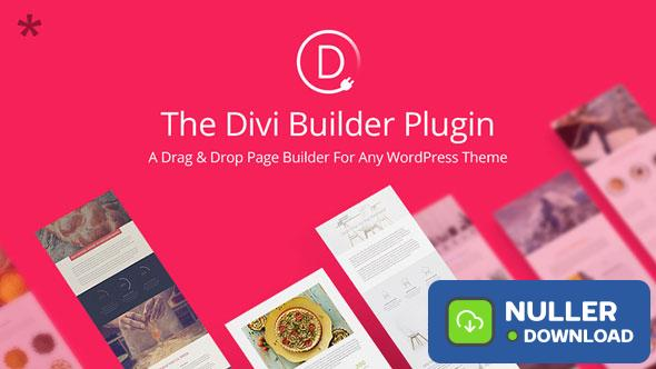 Divi Builder v4.6.1 - Drag & Drop Page Builder Plugin