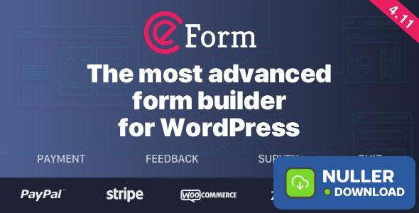 eForm v4.13.1 - WordPress Form Builder