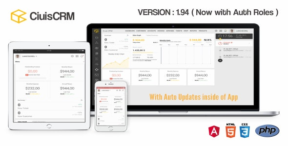 CiuisCRM v1.94 - nulled