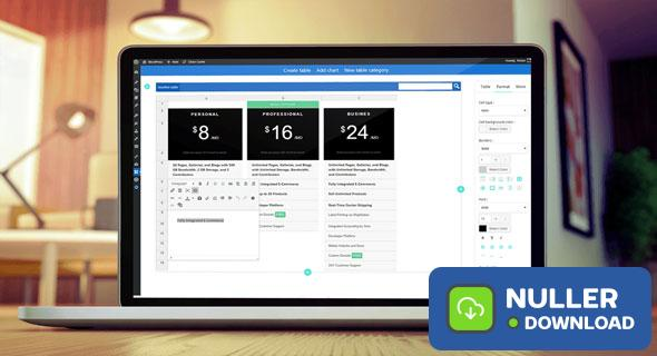 WP Table Manager v2.6.7 - The WordPress Table Editor Plugin