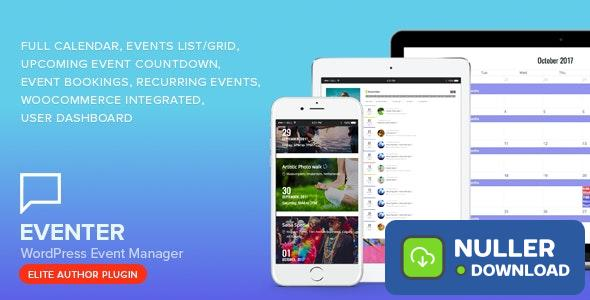 Eventer v2.7.3.1 - WordPress Event Manager Plugin
