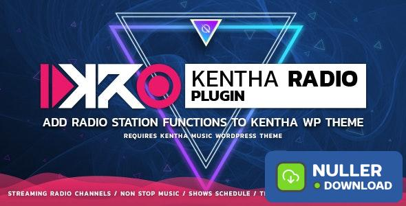KenthaRadio v1.7 - Addon for Kentha Music WordPress Theme