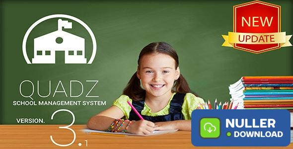 Quadz v3.1 - School Management System