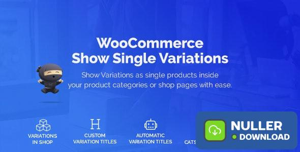 WooCommerce Show Variations as Single Products v1.0.2