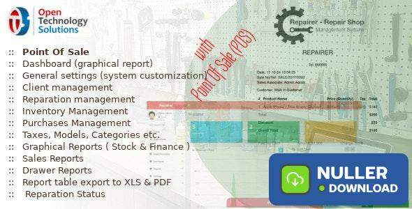 Repairer v3.5 - Repair Shop Management System With Point Of Sale - nulled