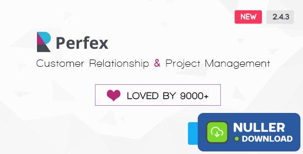 Perfex v2.4.3 - Powerful Open Source CRM