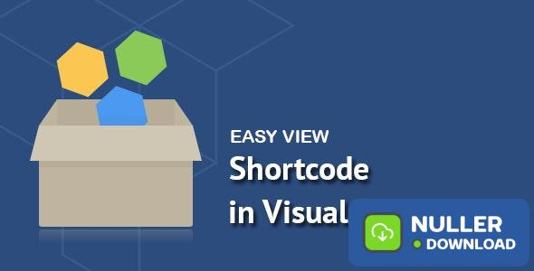 Easy View Shortcode in WPBakery Page Builder v1.1.1