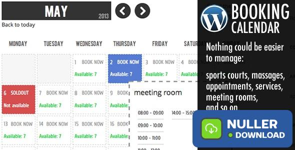 WP Booking Calendar v6.0.9