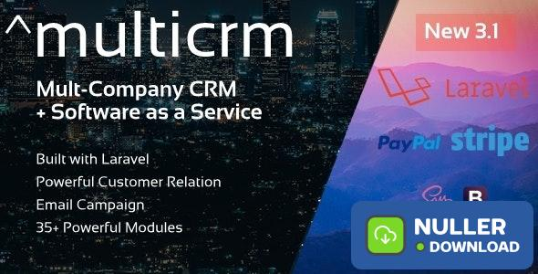 Multicrm v3.1.5 - Multipurpose Powerful Open Source CRM