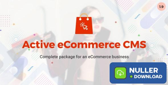 Active eCommerce CMS v1.9 - nulled