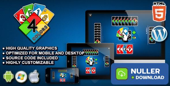 Four Colors - HTML5 Card Game