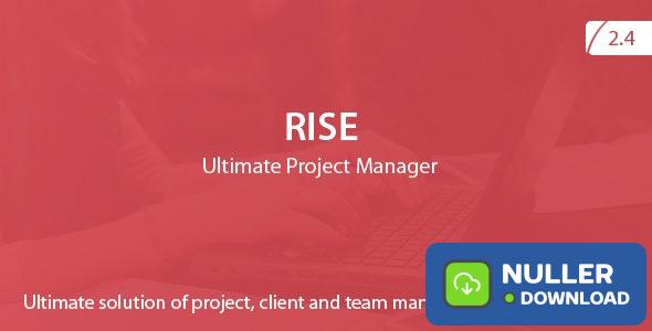 RISE v2.4 - Ultimate Project Manager - nulled