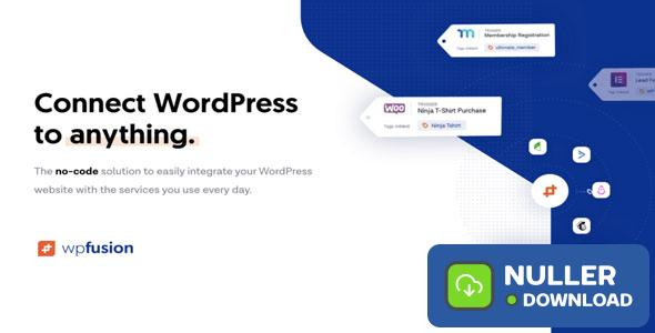 WP Fusion v3.29.6 - Connect WordPress to anything
