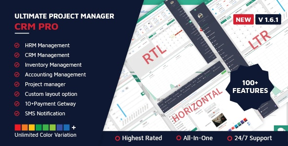 Ultimate Project Manager CRM PRO v1.6.1 - nulled