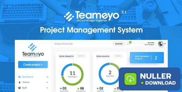 Teameyo v2.1 - Project Management System
