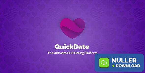 QuickDate v1.4 - The Ultimate PHP Dating Platform - nulled