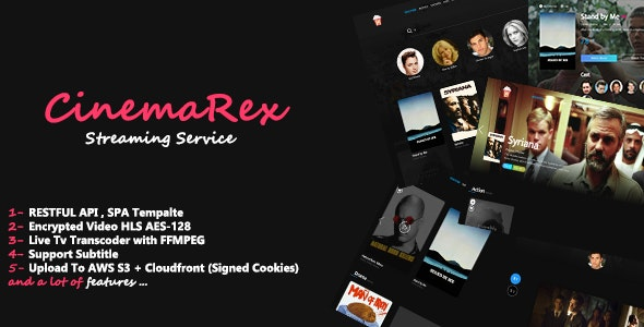 CinemaRex v1.4.9 - Streaming Service