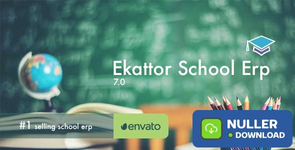 Ekattor School Erp v7.0 - nulled