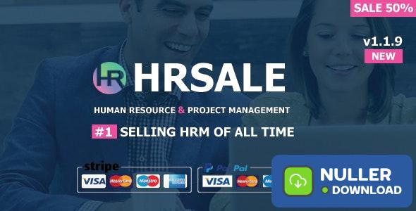 HRSALE v1.1.9 - The Ultimate HRM