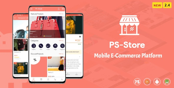PS Store v2.4 - Mobile eCommerce App for Every Business Owner