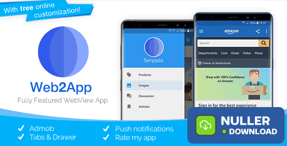 Web2App v3.4.2 - Quickest Feature-Rich Android Webview