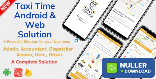 Taxi Time v1.0 – Android Taxi Application Complete Solution