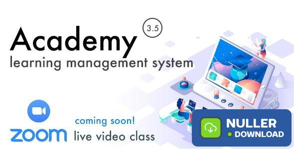 Academy v3.5 - Learning Management System - nulled