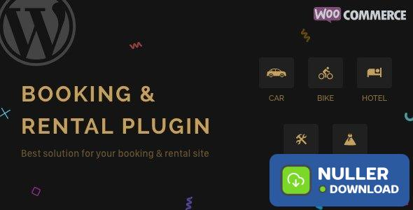 RnB v10.0.3 - WooCommerce Rental & Bookings System