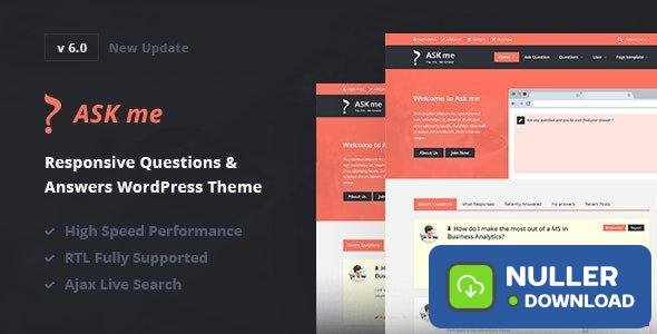 Ask Me v6.3.4 - Responsive Questions & Answers WordPress